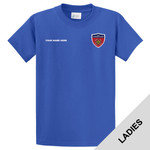LPC61 - N999-Leadership Academy - EMB - Ladies Cotton T-Shirt