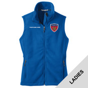 L219 - N999-Leadership Academy - EMB - Ladies Fleece Vest