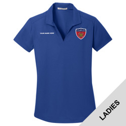 L572 - BSAE068 - EMB - Ladies Wicking Polo