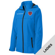L333 - BSAE068 - EMB - Ladies Waterproof Jacket