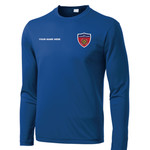 ST350LS - N999-Leadership Academy - EMB - Long Sleeve Wicking T-Shirt